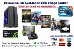PC Gamer Intel I5 3470 3.6ghz + Gtx 1060 6gb + 8gb+ HD1tb + Jogos + Garantia