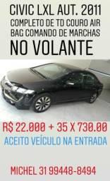 Honda civic lxl aut. 2011 - 2011
