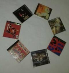 7 CDs originais de Rock e Punk usados por 65 reias ( Gentileza ler toda a descrição )