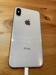 Vendo iphone x branco 256gb leia o anuncio