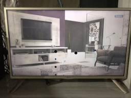 TV 32 polegada com defeito vendo o troco