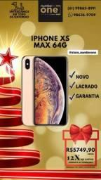 IPhone XS MAX 64g Novo,Garantia Apple e NF