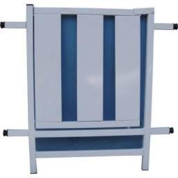 Grade de porta reforçada Branca 70x80 Médiagro