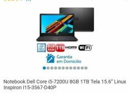 Notebook Dell i5 zero lacrado