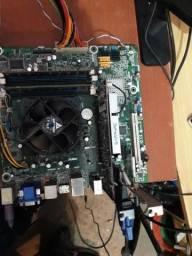 Placa mae, processador i5+4Gb+1Gb de video + Wireless
