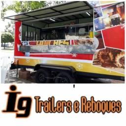FOOD TRAILER PRONTO ENTREGA (51-981009352 WhatsApp