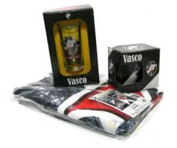 Kit Presente Torcedor Vasco RJ 3x1 1toalha 1caneca 1copo