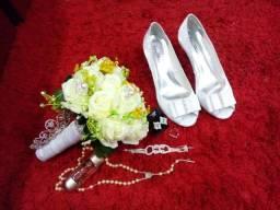 Sapato branco - Tam 37