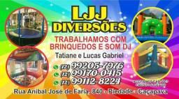 LJJ Diversões - Brinquedos para festa e Eventos a partir de $130.00