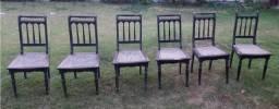 Cadeiras De Imbuia Anos 70