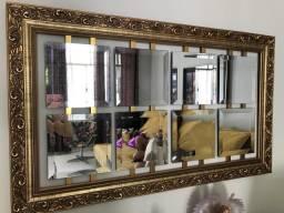 Quadro Espelhos Dourado