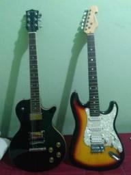 2 guitarras pelo preço de 1