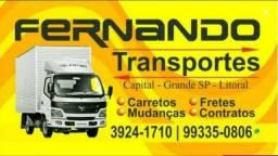 Transporte e Mudanças - Lapa - Freg do O - Casa Verde - Pirituba - Osasco - Guarulhos