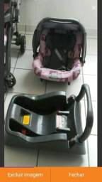 Vendo Bebê conforto ( já com a base pro carro)