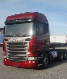 Scania R 440 6x2 2012 Teto Alto Cavalo + Graneleira Ls 3 Eixos Randon 2012 !!! - 2013