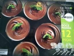 Conjunto de sobremesas Doce mania com 12 peças