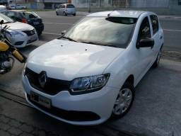 Sandero Completo Baixa KM Revisado Renault! Troco Financio - 2016