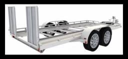 Carretinha de rebocar veículos guincho plataforma - 2017