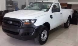 Ford Ranger XL CS 2.2 Diesel 4x4 manual 19/20 0km IPVA 2020 pago - 2020