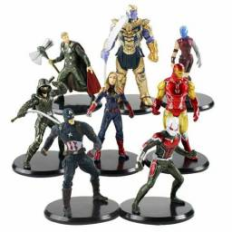 Kit Vingadores Guerra Infinita 8 Personagens 8-11 Cm