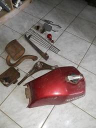 Lote peças para motos antigas honda cb 400 cb 450 lambretta vespa