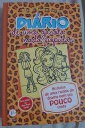 Livro infanto juvenil Diário de uma Garota nada Popular