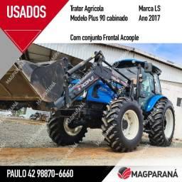 Trator Cabinado LS Plus 90 Conjunto Frontal Acople