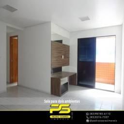 Apartamento com 3 dormitórios à venda, 85 m² por R$ 400.000 - Bessa - João Pessoa/PB