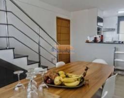 Cobertura à venda com 4 dormitórios em Santo andré, Belo horizonte cod:41580