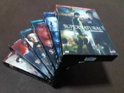 Box DVD's Supernatural (Sobrenatural) da 1° à 6 ° temporada completa
