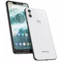 Motorola one 64 gb branco novo