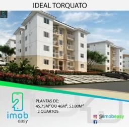 Apartamento no Ideal Torquato, 2 quartos, área de lazer completa