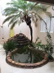 Casa com fino acabamento porcelanato cascata