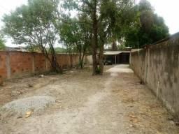Terreno com casa na beira da BR 493