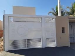 Casa Nova Terreno 5 por 30 Plano Minha Casa Minha Vida Com garagem coberta com laje