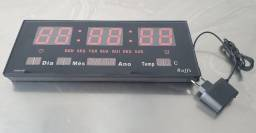 Relógio de Parede Digital Multifunções