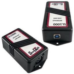 Interface digital de iluminação SL1000