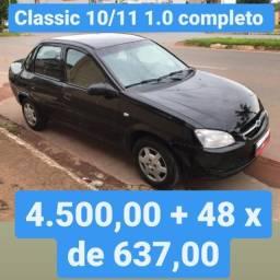 Classic 10/11 1.0 Completo 4.500,00 mais 48x de 637,00