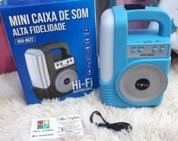 MINI CAIXA DE SOM ALTA FIDELIDADE INOVA RAD - 8622