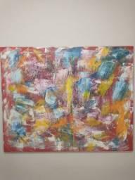 Quadro Abstrato Multicores