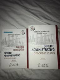 Direito Administrativo Descomplicado 26ª Edição + Caderno de Questões