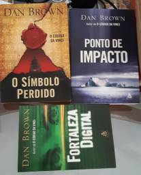 Livros Dan Brown R$15,00 cada