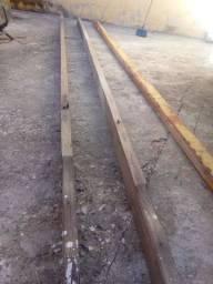 Vendo 3 pracha 2 de peroba de 4metro 1 de ferro de 4 metro e meio
