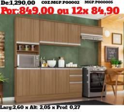 I Moveis- Cozinha Completa C/ Balcão C/ Tampo-Pagamento e Entrega Na Sua Casa