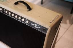 Título do anúncio: Amplificador Fender Super Sonic Valvulado 60w Combo Blonde