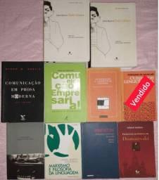 Livros diversos de Pós-Graduação e Universitários