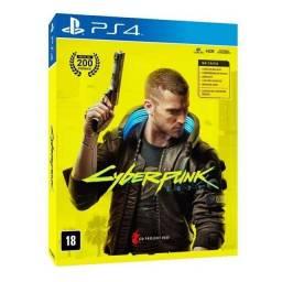Cyberpunk 2077 PS4 edição especial lacrado