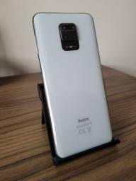 "Smartphone Xiaomi Redmi Note 9S 128gb 6gb Ram Tela 6.67"" 4g Branco Glacial"