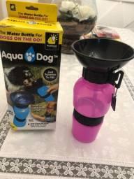 Garrafa Bebedouro Aqua Dog 500ml Passeio Pet Portátil Viagem
