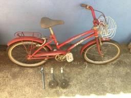 Título do anúncio: Bicicleta Caloi Ceci aro 16